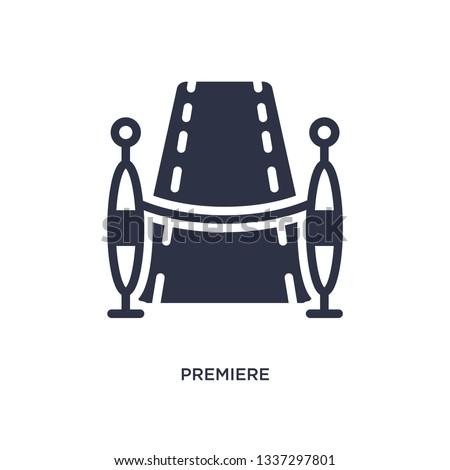 premiere isolated icon simple