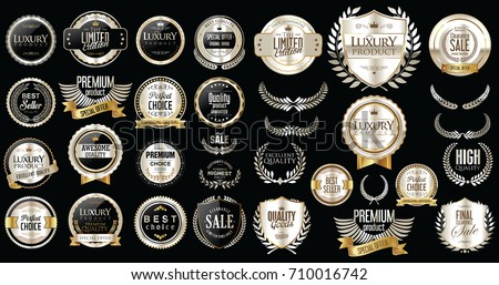 premium and luxury silver and...