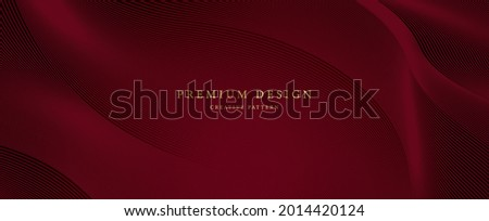 Premium background design with diagonal line pattern in maroon colour. Vector horizontal template for digital lux business banner, formal invitation, luxury voucher, prestigious gift certificate