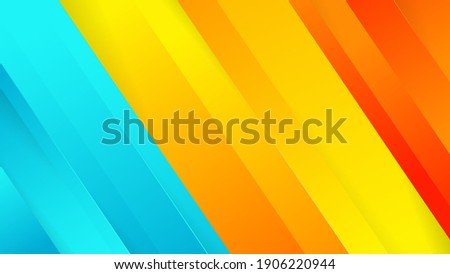 Premium colorful abstract background with dyanmic shadow on background. Vector background. EPS 10