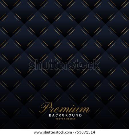premium dark upholstery