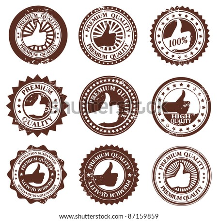 Premium Good Quality Rubber stamp and Labels