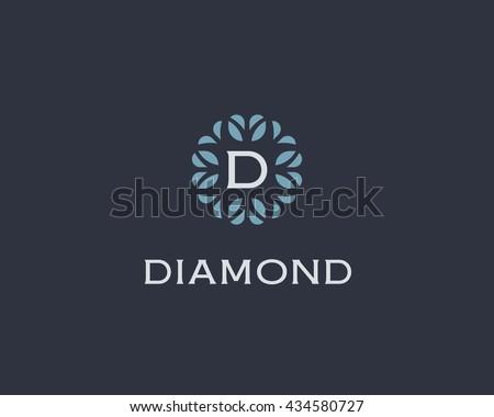 premium monogram letter d