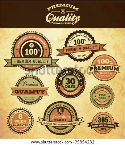 Premium Quality and Guarantee Icon