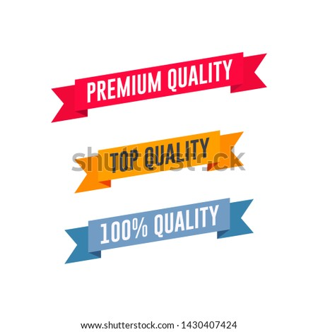 Premium Quality, Top Quality & 100% Quality Shopping Ribbon Set