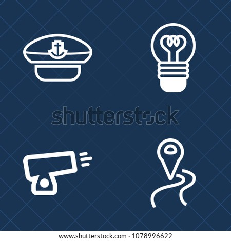 premium set of outline vector