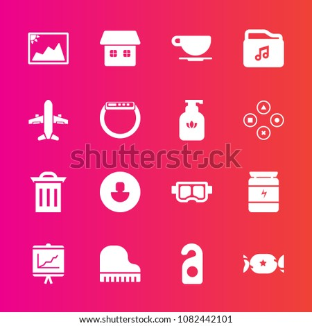 premium set with fill vector