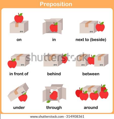 Preposition Worksheet For Preschoolers on Preposition Motion Preschool Worksheet Education 314908361
