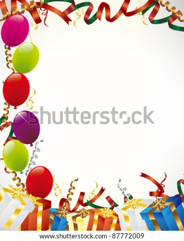 present background - stock vector
