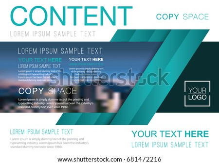 stock-vector-presentation-layout-design-template-business-financial-for-background-blur-city-background-flat