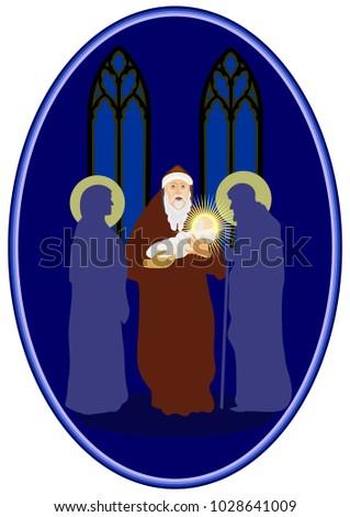 presentation of jesus in the