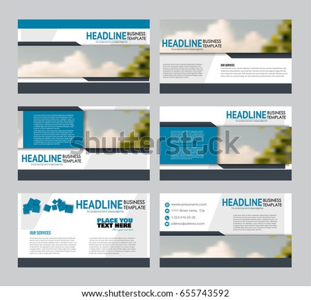 Free business powerpoint templates pack 01 download free vector presentation slides template business or education report pages vector illustration flyer or brochure friedricerecipe Image collections