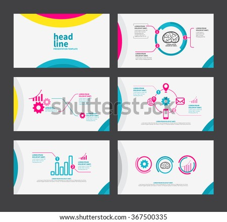 Free business powerpoint templates pack 01 download free vector presentation template flat design set for brochure flyer marketing and advertising and icon toneelgroepblik Image collections