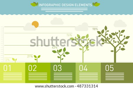 presentation template with the