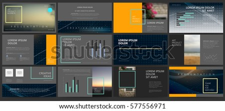 Presentation templates. Use in presentation, flyer and leaflet, corporate report, marketing, advertising, annual report, banner. modern style. Business template for brochure or booklet.