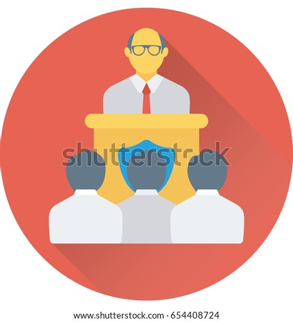 Presentation Vector Icon