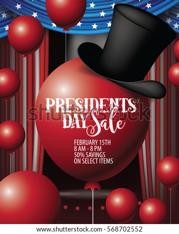 president day sale background
