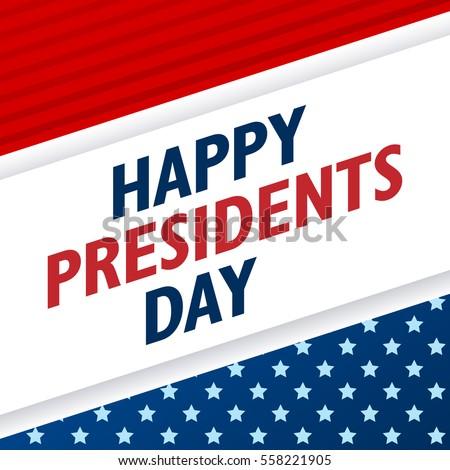 presidents day background usa