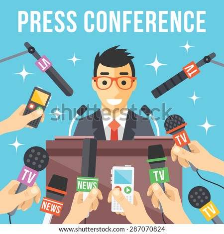 press conference live report