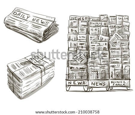 newspaper and modern life Headline cartoonist's unique take on modern life will leave you asking for more.