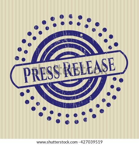 Press Release rubber seal
