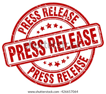 press release. stamp