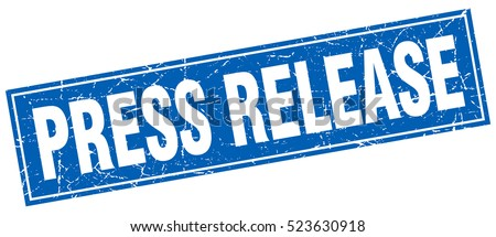 press release. stamp. square grunge isolated press release sign