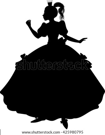 vector images illustrations and cliparts pretty princess