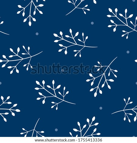pretty seamless pattern with