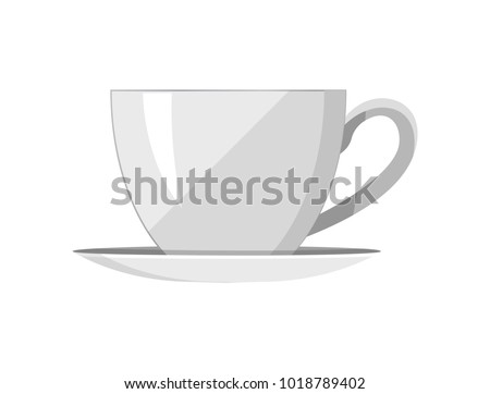 Sketched Tea Cup Vector Background - Download Free Vector Art, Stock ...