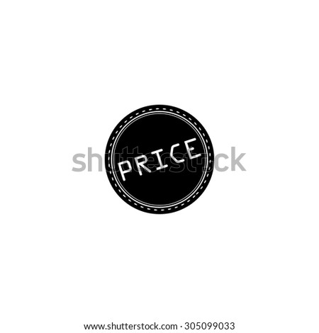 price badge label or sticker