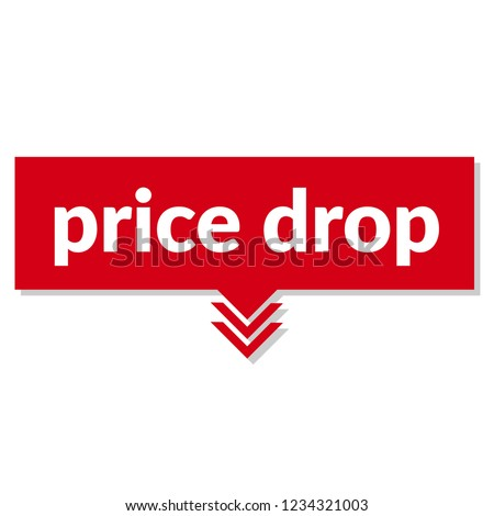 price drop sign,label. price drop speech bubble. price drop tag sign,banner