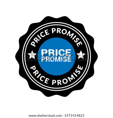 Price Promise stamp. rubber stamp with the text Price Promise. Price Promise label, badge, logo,seal