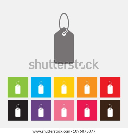 Price tag icon - Vector