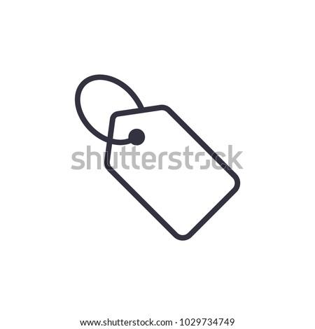 price tag icon vector Eps10