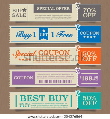 price tags design  vector