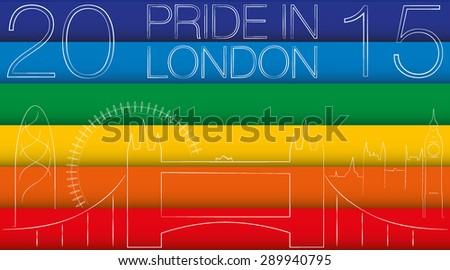 pride in london colors of