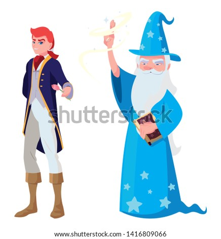 prince charming and wizard of