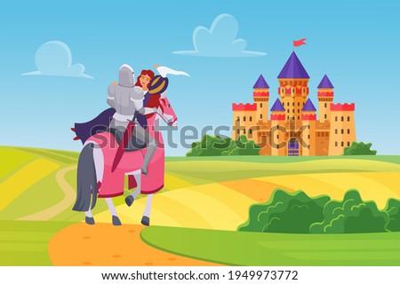 prince knight saved princess