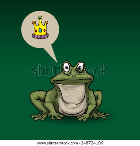 princess frog  with speech