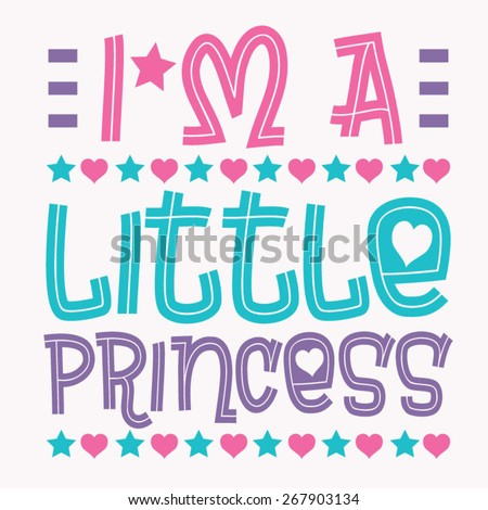 princess love typography  t