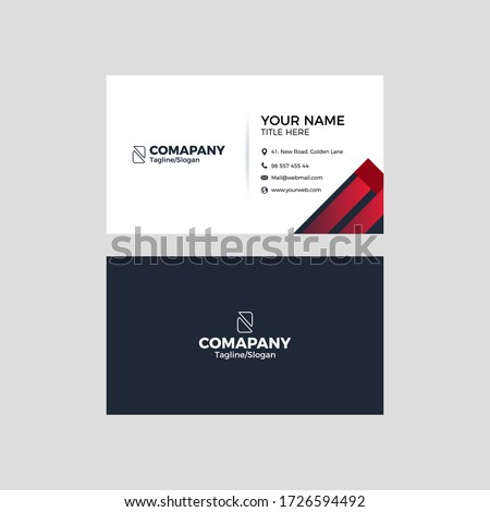 Print Business Card Design For Corporate Company