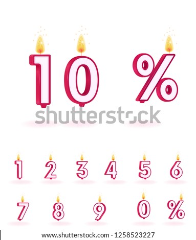 print  candle numbers 0 1 2 3 4