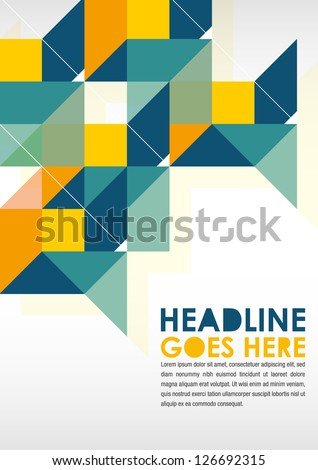 Print Poster Design Template Layout Design Background