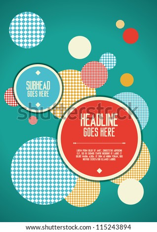Print/ Vector Poster Design Template/ Layout Design/ Background/ Abstract web design/ wallpaper