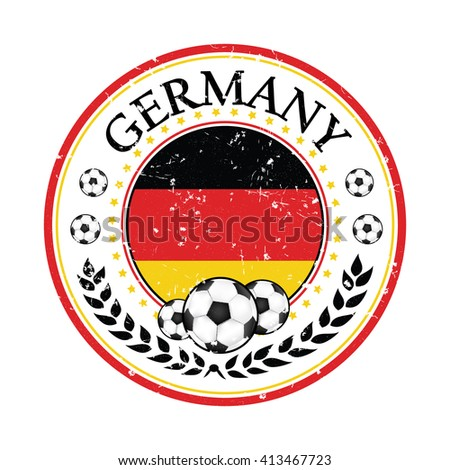 printable grunge germany soccer