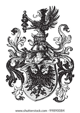 printer coat of arms  guild