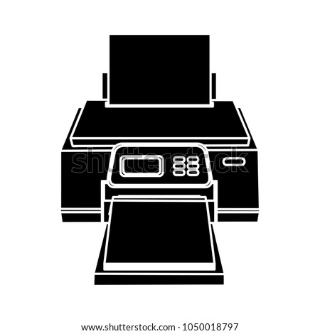 printing, printer icon, computer paper copier - computer printer