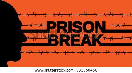 prison break poster vector