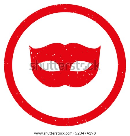 privacy mask rubber seal stamp